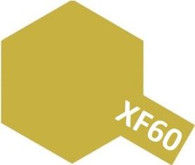 XF-60 Dark Yellow (краска акриловая, темно-желтый матовый), 10мл.
