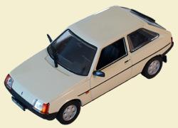 ZAZ 1102 Tavria (1989) Kultowe Auta 55, beige