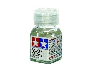 X-21 Flat Base (матовая основа для эмалевых красок бесцветная), 10 мл.