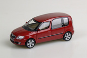 SKODA Roomster (2007), red flam. metallic