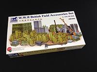 Сборная модель  WWII British Field Accessories