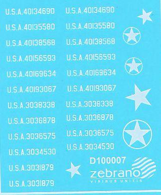 Американская бронетехника (одиночная)