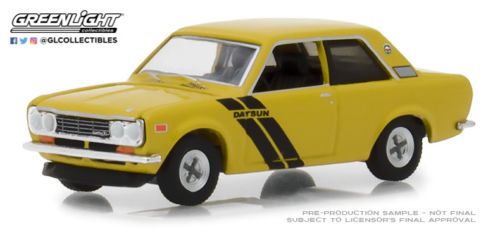 DATSUN 510 Trans-Am Decor Package 1972 Gold Poly with Black
