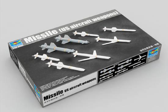 Сборная модель Набор американских ракет